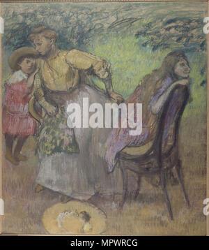 Madame Alexis Rouart e i suoi figli, c. 1905. Foto Stock