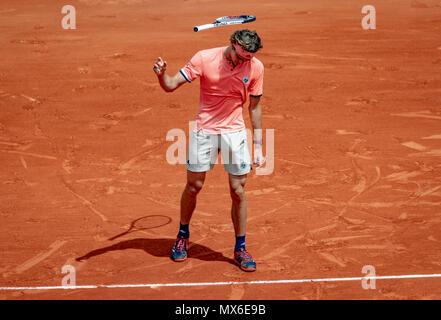 Parigi, Francia, 03 giugno 2018, Tennis, aperto francese, Roland Garros, foto: Henk Koster/tennisimages.com Credito: Henk Koster/Alamy Live News