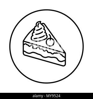 Torta Icona Vettore Isolato Su Sfondo Trasparente Torta Trasparenza