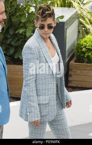 Settantunesima annuale di Cannes Film Festival - giuria - Photocall con: Kristen Stewart dove: Cannes, Francia Quando: 08 maggio 2018 Credit: Euan ciliegio/WENN Foto Stock