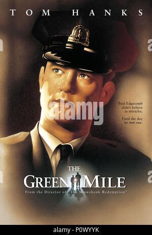 Pellicola originale titolo: Il miglio verde. Titolo inglese: Il miglio verde. Regista: FRANK DARABONT. Anno: 1999. Stelle: Tom Hanks. Credito: Castle Rock Entertainment / Album