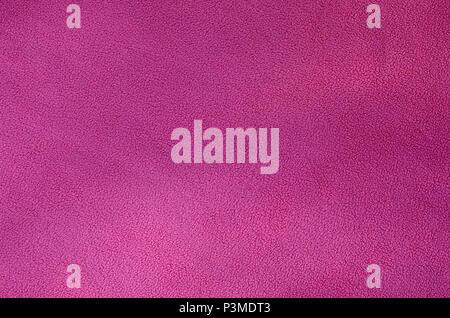 La Coperta Di Pelliccia Rosa In Tessuto Di Pile Una Texture Di