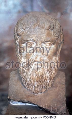 Antico mezzo busto ritratto di un uomo vecchio con una lunga barba e ... 9205b3a6af65