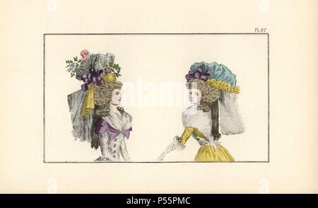 Donna in semi-redingote con collare e pulsanti in diversi colori 9dad7ab98e38