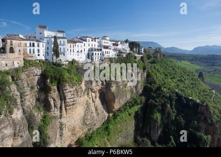 Spagna, Andalusia Regione, Provincia di Malaga, Ronda citta', Foto Stock