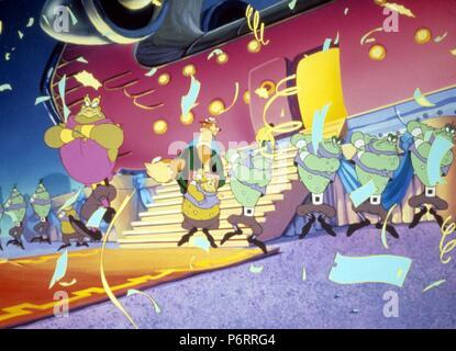 Rock-A-Doodle Anno : 1991 Regno Unito / Irlanda Direttore : Don Bluth Dan Kuenster animazione Foto Stock