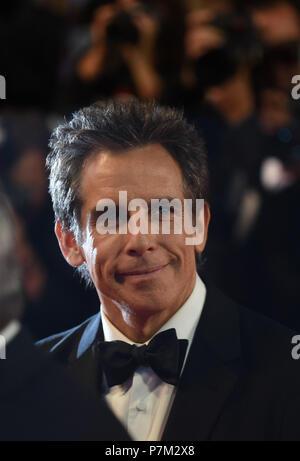 "21 maggio 2017 - Cannes, Francia: Ben Stiller assiste il ""Meyerowitz storie 'premiere durante il settantesimo Cannes film festival. Ben Stiller Lors du 70eme Festival de Cannes. *** La Francia / NESSUNA VENDITA A MEDIA FRANCESI *** Foto Stock"