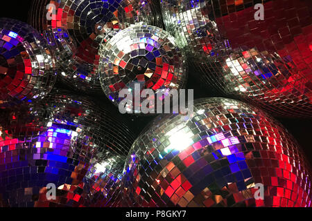 Berlino, Germania, discoteca sfere Foto Stock