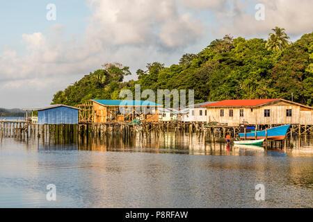 Porta Kudat Sabah Borneo Malese Foto Stock