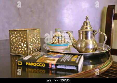 Camera Da Letto Stile Marocco : Casablanca marocco aprile 2016: suite camera da letto e il