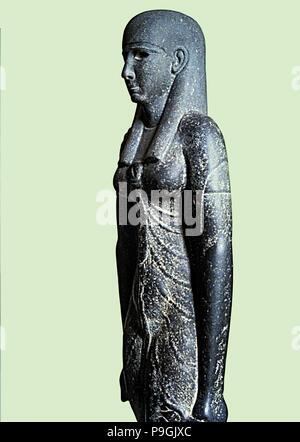 Statua della Dea Iside, madre della mitologia egiziana. Foto Stock