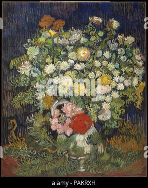 Fiori 5 Lettere.Bouquet Di Fiori In Un Vaso Di Vincent Van Gogh 1890 Foto