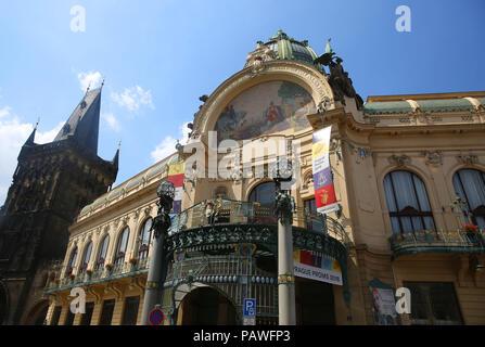 Praga, Repubblica Ceca. 14 Luglio, 2018. Praga, Repubblica Ceca Credito: Leigh Taylor/ZUMA filo/Alamy Live News Foto Stock