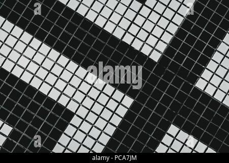 Texture piastrelle bagno nere: trama mosaico piastrelle bagno