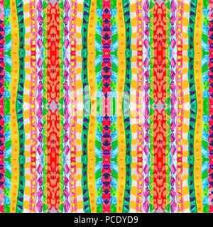 Etnica pattern senza giunture geometrico ornamento for Carta da parati etnica