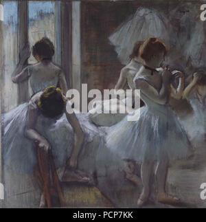 Danseuses, 1884-1885. Foto Stock
