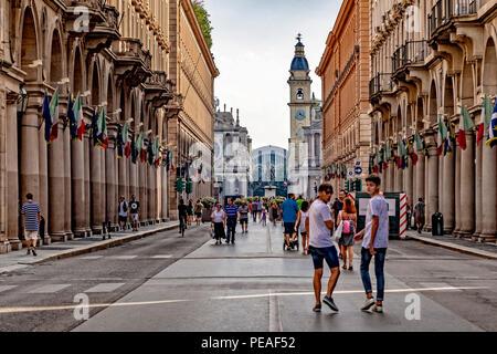 Italia Piemonte Torino Via Roma