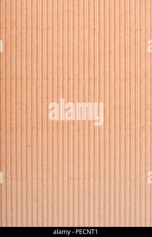 Beige texture di cartone. Sfondo. Marrone . Foto Stock