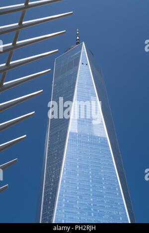 World Trade Center Complex in Lower Manhattan, New York, Stati Uniti d'America Foto Stock