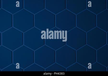Abstract la texture della piastrella motivo esagonale