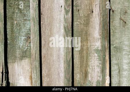 Asse di legno recinto vicino. Sfondo dettagliato foto texture. Parete in legno sfondo astratto. Foto Stock