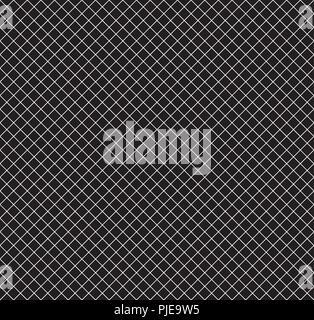 Cella della Griglia con linee diagonali di sfondo senza giunture Foto Stock