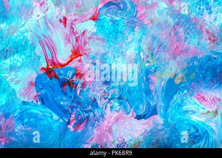 Abstract dipinte a mano sfondo ad acquerello Foto Stock