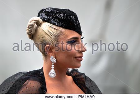 """Lady Gaga, portare attrice nel film """"è nata una stella' .TIFF 2018: Toronto International Film Festival è uno dei più importanti eventi del film Foto Stock"""