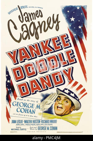James Cagney, Yankee Doodle Dandy (Warner Brothers, 1942). Poster di riferimento file # 33595_820 THA Foto Stock
