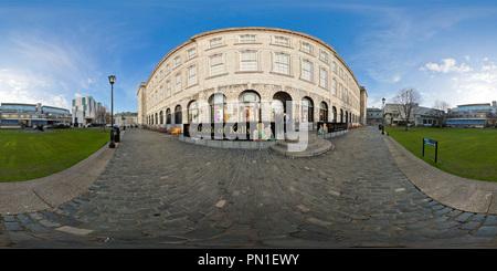 Fellow' Piazza del Trinity College di Dublino Foto Stock