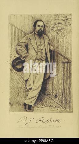 """Immagine dalla pagina 8 di """"opere poetiche di Dante Gabriel Rossetti. Modificati con prefazione di W. M. Rossetti. Una nuova edizione in un unico volume' . Foto Stock"""