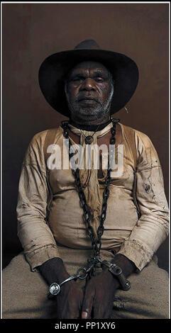 Prod DB © Bunya Productions - Dolce Paese film / DR Dolce Paese de Warwick Thornton 2017 AUST. avec Hamilton Morris aborigene, australie Foto Stock