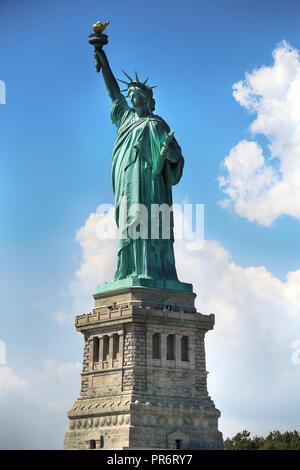 La Statua della Libertà a New York City Foto Stock
