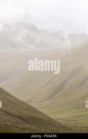 Stelvio passo dello Stelvio, dello Stelvio, Area Leader, Ortles Alpi, Val Venosta, Alto Adige, Italia, Europa Foto Stock