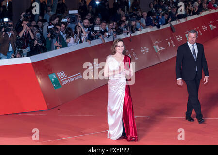Roma, Italia. 24 ottobre, 2018. Sigourney Weaver sul tappeto durante il XIII Roma Film Fest presso Auditorium Parco della Musica. Credito: Gennaro Leonardi/Alamy Live News Foto Stock