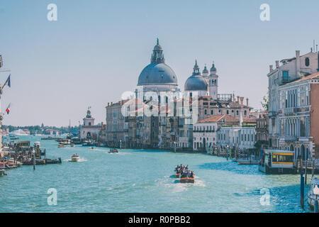 Giornata di sole a Venezia Foto Stock