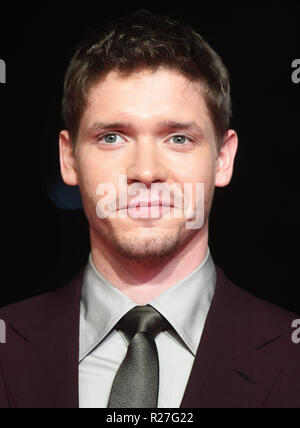 Sessantaduesima London Film Festival - Il Re Outllaw - Premiere con: Billy Howle dove: Londra, Regno Unito quando: 17 Ott 2018 Credit: WENN.com Foto Stock