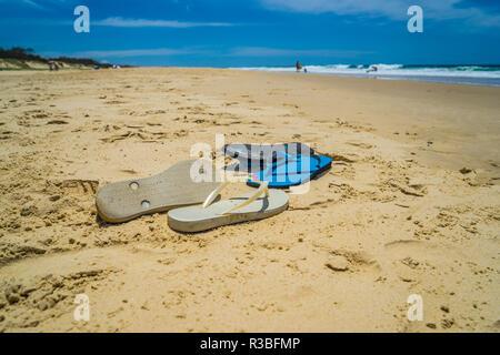 Sandali per la spiaggia Foto Stock