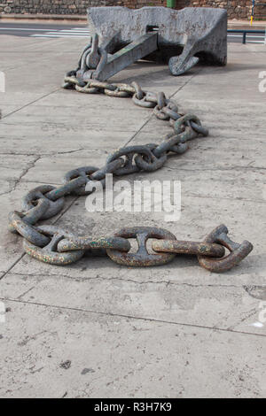 catena di metallo Foto Stock