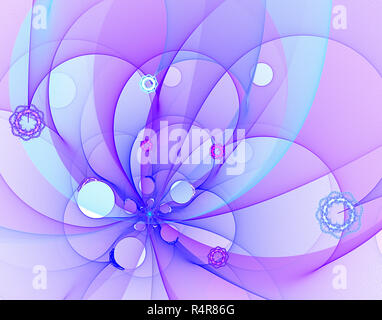 Abstract frattale Foto Stock