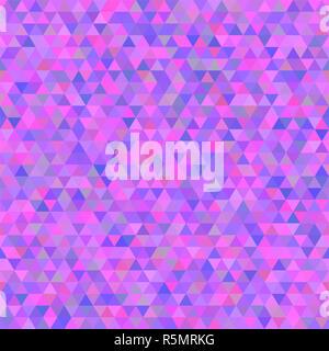 Vettore poligonale triangolare sfondo luminoso. Moderna astratta geometrica seamless pattern. Foto Stock