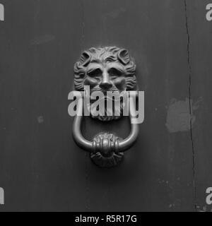 Italia: Close up di rustico porta vecchia Foto Stock