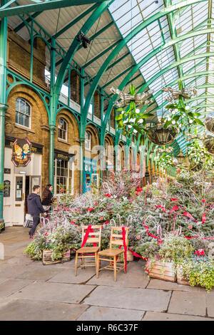 Una tipica vista in Covent Garden