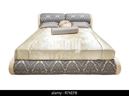 Letti Imbottiti Classici Di Lusso : Lusso classico beige mobili letto con letto modellato con