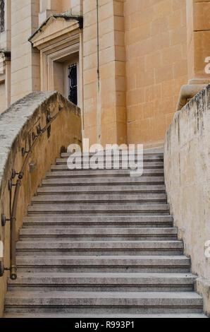 MOSTA, MALTA ,15 dicembre 2018 - Il duomo di Mosta Duomo ( Santa Maria la Chiesa La Chiesa Parrocchiale di assunzione