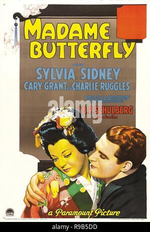 Pellicola originale titolo: Madame Butterfly. Titolo inglese: Madame Butterfly. Anno: 1932. Direttore: MARION GERING. Credito: Paramount Pictures / Album