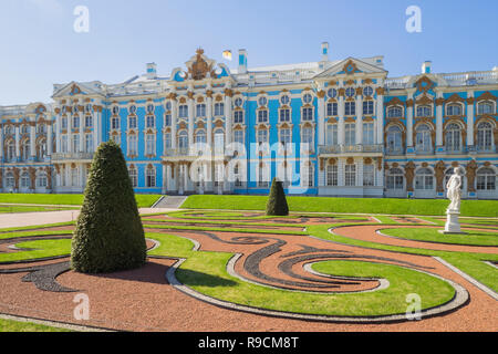 Europa - Katharinenpalast a San Pietroburgo Foto Stock