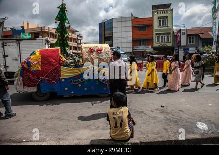 Albero Di Natale Java.Karo Nel Nord Di Sumatra Indonesia Il 26 Dicembre 2018 I