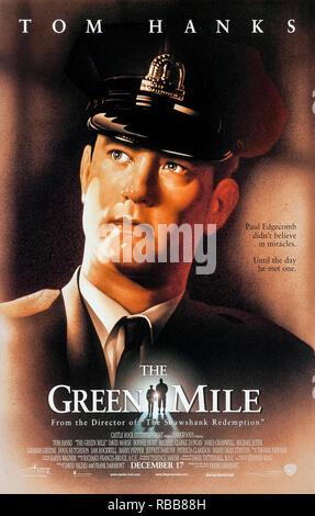 Il miglio verde (1999) diretto da Frank Darabont e interpretato da Tom Hanks, Michael Clarke Duncan, David Morse e Bonnie Hunt. Guardie carcerarie a morte scoprire che il detenuto John Coffey ha poteri soprannaturali.
