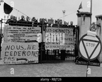 Prod DB © film ISKRA / DR LES REVOLTES documentaire de Michel Andrieu et Jacques Kebadian 2018 FRA. documentaire; documentario; Mai 68; 1968; maggio 1968 eventi in Francia; Foto Stock